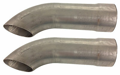 "Schoenfeld 2525 2-1/2"" Exhaust Turnouts - Pair  #1767"