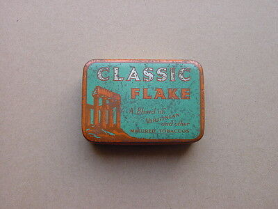 CLASSIC FLAKE, tobacco tin, Original