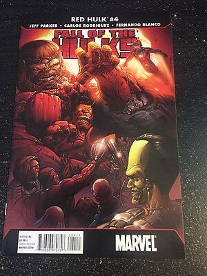 Fall Of The Hulks:Red Hulk#4 Incredible Condition 9.4(2010) Wow!!