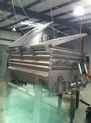 Double ribbon blender 75 ft.³ cubic foot stainless steel