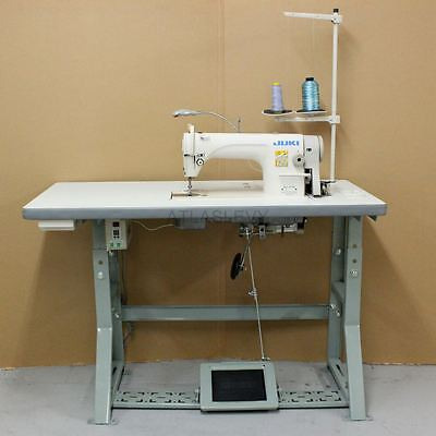 Juki DDL8700 Industrial Single Needle Sewing Machine - New Servo Motor and Table