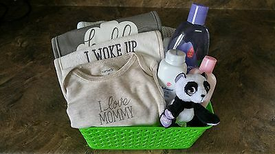 New Beginnings Unisex Baby Gift Basket