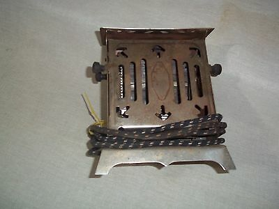 Antique Two Door Toaster 1920's Working cnd. Made Rite Mfg. Sandusky OH.OEM cord