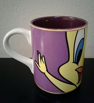 Warner Brothers Looney Tunes Tweety Bird Large Coffee Mug VGC