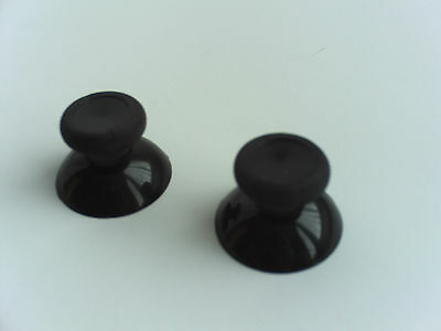 2 NEW Analog Thumbstick Thumb Stick Replacement for XBOX One Controller Black