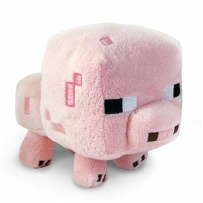 "Minecraft BABY PIG 7"" PLUSH TOY"