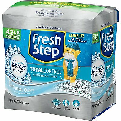 Fresh Step Total Control with Febreze Cat Litter, Scented 42 lbs.