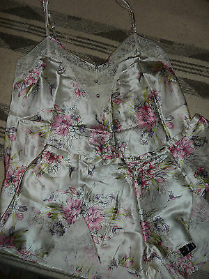 """BNWT """"Rosie for Autograph"""" Silk Camisole and French Knickers Set/ Size 20"""