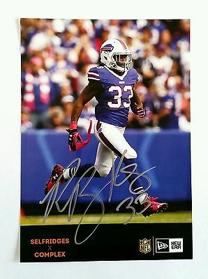 Ron Brooks - Buffalo Bills - Picture Autograph - NFL