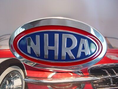 Aluminum Championship NHRA Drag Racing Trailer Hitch Cover