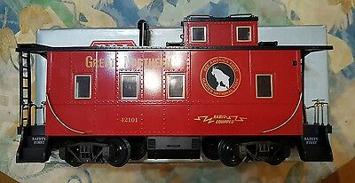 rea ( aristocraft ) great northern caboose g scale