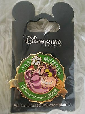 Disneyland Paris Pin Cast Member Trading Pin LE Cheshire 114783
