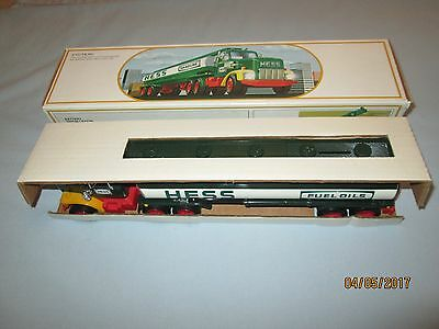 1984 Hess Toy Truck Bank with Red Switch. NIB Never Used.