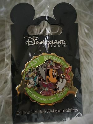 Disneyland Paris Pin Cast Member Trading Pin LE Minnie Mouse 101795
