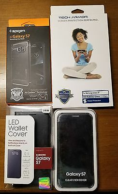 ***Samsung Galaxy S7 Cases + Screen protector + Charger***
