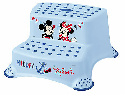 Disney Micky Mouse N Two-Step Stool Step Stool Step Stool up to 120 kg