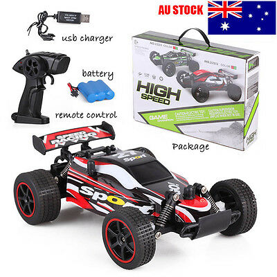 Radio RC RTR High Speed Mini Racing Truck Remote Control Buggy Off-Road Car 1:20