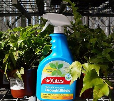 Yates Waterwise DROUGHT SHIELD 750ml Protects Plants from extreme conditions