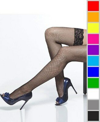 bb24d853eb47f NEW COQUETTE 1732X Plus Size Lace Top Fishnet Thigh High Stockings ...