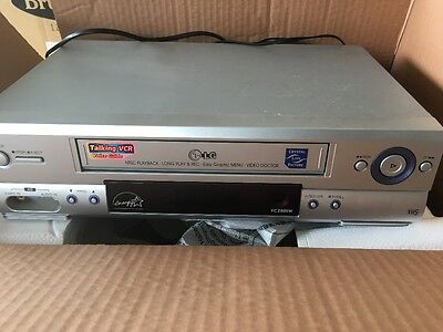 LG NTSC longplay VCR silver video recorder
