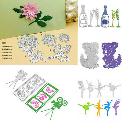New Metal Cutting Dies Stencil DIY Scrapbooking Album Paper Card Embossing Craft