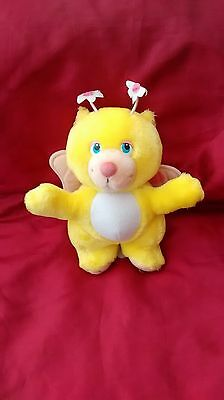 Vintage Disney Small Wuzzles Butterbear 80S Soft Toy Plush