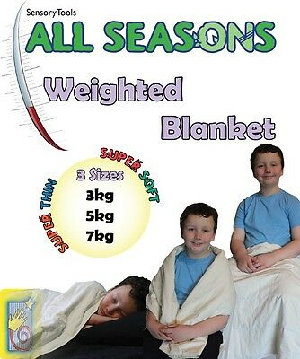 Weighted Blanket -All Seasons (Great For ASD,ADHD. Autism)