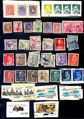 Spain Stamp collection Early & later Used
