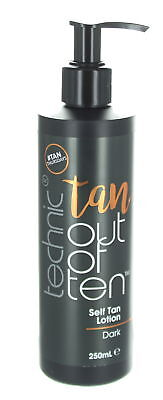 Technic Tan Out of Ten Self Tan Lotion 250ml-Dark