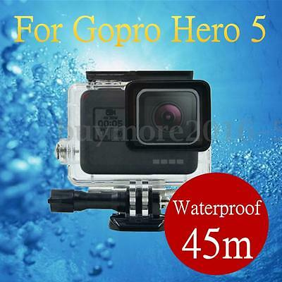 45m Waterproof Underwater Housing Protective Case Cover For Gopro Hero 5 Camera