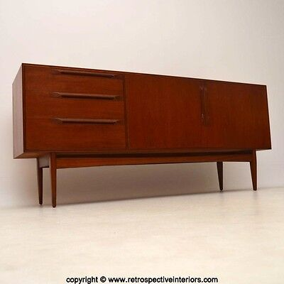 TEAK RETRO SIDEBOARD BY McINTOSH VINTAGE 1960's