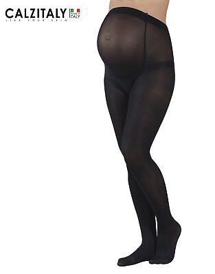 Maternity Opaque Tights, Light Support Pregnancy Pantyhose, 20 DEN,Made in Italy