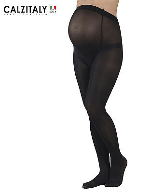 Maternity Opaque Tights, Pregnancy Opaque Pantyhose, 60 DEN,Made in Italy