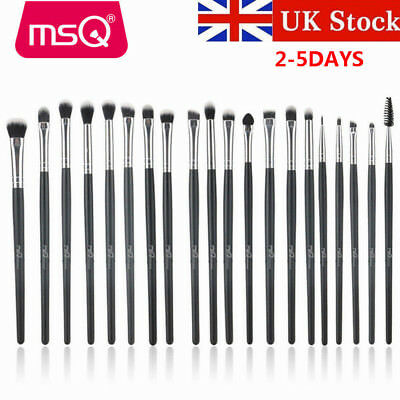 UK DELIVERY 20PCs Synthetic Hair Eye Makeup Brush Sets Eye Shadow Eyebrow Brush