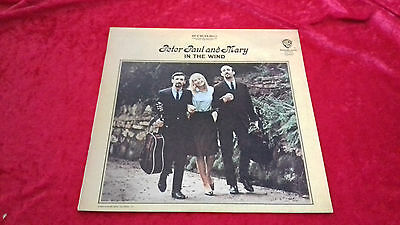 peter paul and mary in the wind UK vinyl LP