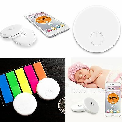 Bluetooth 4.0 Baby Thermometer Temperatur Tracker IOS/Android APP Remote Control