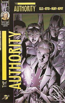 THE AUTHORITY vol. 1 - nº 11 (E.C.= 9,5/10)