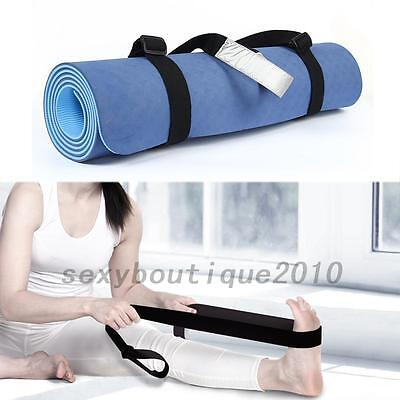 Adjustable Yoga Mat Sling Carrier Shoulder Carry Strap Belt Cotton New