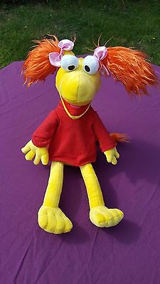 "Jim Henson Fraggle Rock Red Doll Large Muppet 18"" Plush Soft Stuffed Toy"