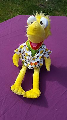 "Jim Henson Fraggle Rock Wembley  Doll Large Muppet 16"" Plush Soft Stuffed Toy"