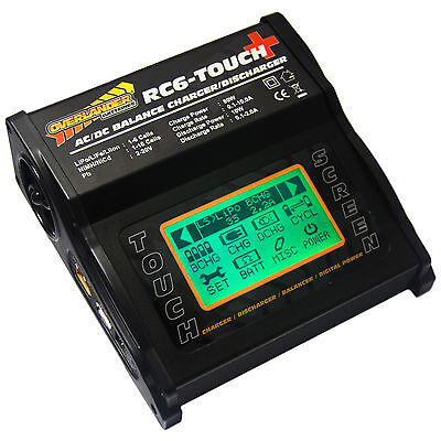 Overlander RC6-Touch+ 80W AC/DC Balance Charger/Discharger