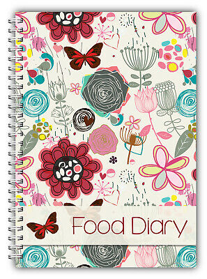 Diet Food Diary Slimming Tracker Food Weight Loss Dieting Journal Running SW