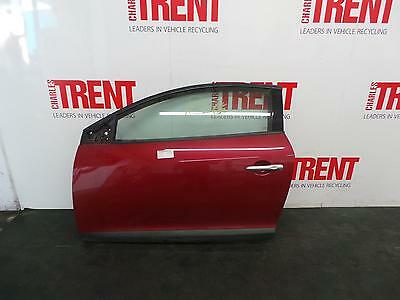 2011 RENAULT MEGANE 3 Door Coupe Red N/S Passengers Left Front Door
