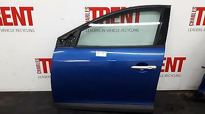 2010 RENAULT MEGANE 5 Door Hatchback Blue N/S Passengers Left Front Door