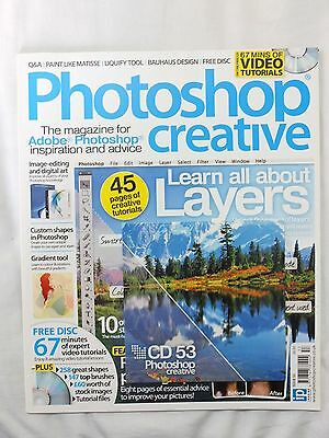 Photoshop Creative magazine complete with CD - issue number 53