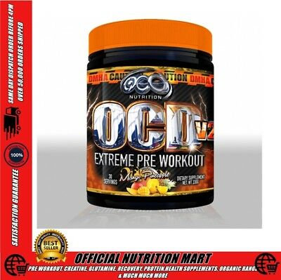 OCD Nutrition OCD V2 30 Serve Extreme Pre Workout New Version Voted NO 1 Pre