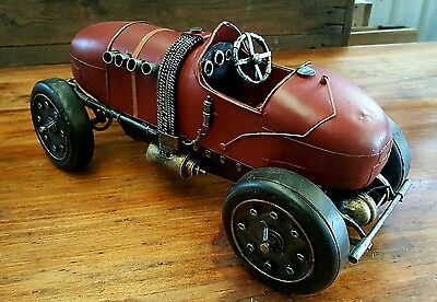 Vintage style collectable model tin car