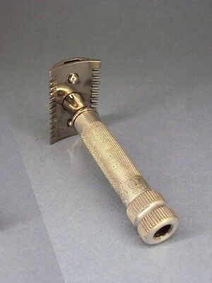 MERKUR Solingen # 11 silver - safety razor - open comb