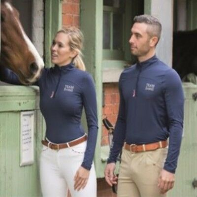 SHIRES TEAM LONG SLEEVE BASE LAYER UNISEX 9850 rider lightweight stretch top