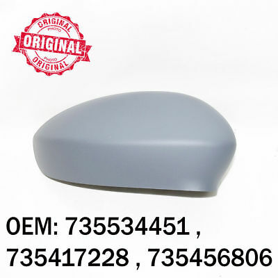 Right Side Wing Mirror Cover Cap Casing Primed For Fiat Grande Punto EVO Linea